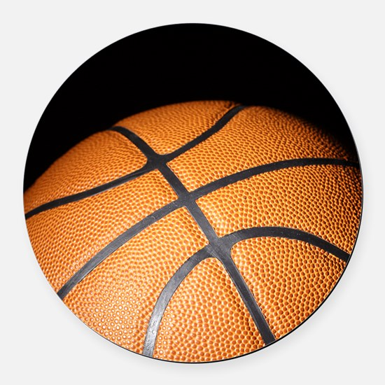 Basketball Ball Round Car Magnet