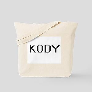Kody Digital Name Design Tote Bag