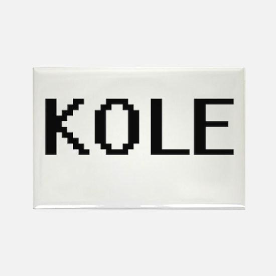 Kole Digital Name Design Magnets