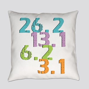 runner distances Everyday Pillow