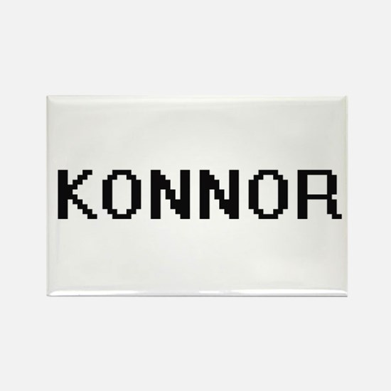 Konnor Digital Name Design Magnets