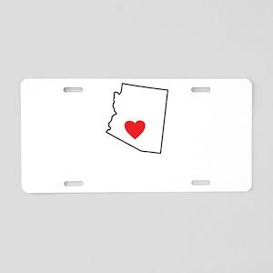 Arizona-01 Aluminum License Plate