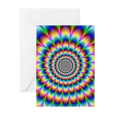 Optical Illusion Greeting Card