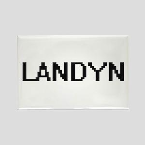 Landyn Digital Name Design Magnets