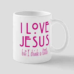 Pink Love Jesus Drink Mug