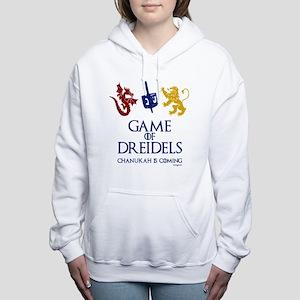 Game of Dreidels Women's Hooded Sweatshirt