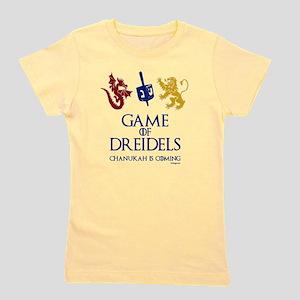 Game of Dreidels Girl's Tee