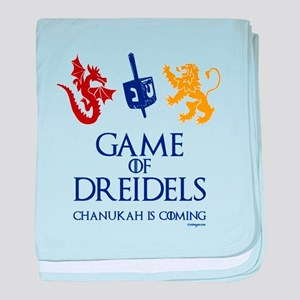 Game of Dreidels baby blanket