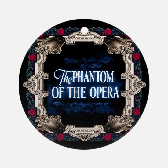 Phantom Of The Opera Lettering With Round Ornament
