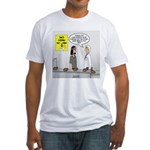 Medical Pot Pie Fitted T-Shirt