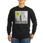 Medical Pot Pie Long Sleeve Dark T-Shirt