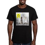 Medical Pot Pie Men's Fitted T-Shirt (dark)