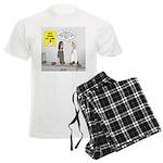 Medical Pot Pie Men's Light Pajamas