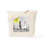 Medical Pot Pie Tote Bag