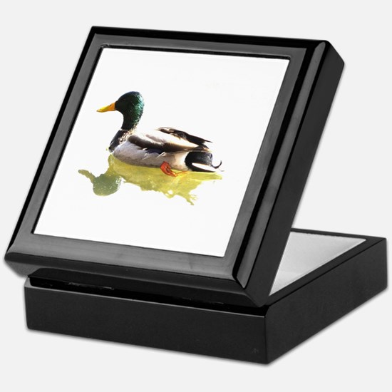 Self Reflection Mallard Keepsake Box
