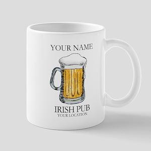 Irish Pub Personalized 11 oz Ceramic Mug