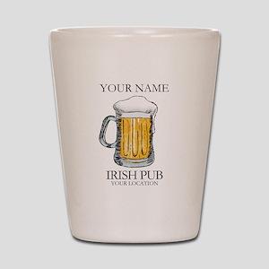 Irish Pub Personalized Shot Glass