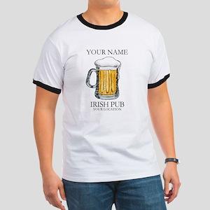 Irish Pub Personalized Ringer T