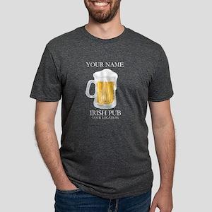 Irish Pub Personalized Mens Tri-blend T-Shirt