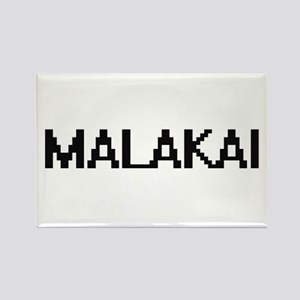 Malakai Digital Name Design Magnets
