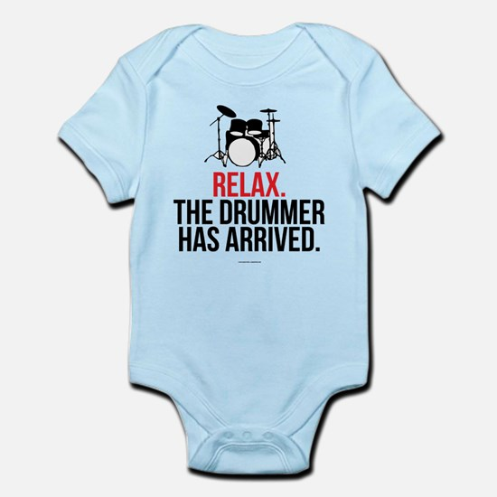 Relax Drummer Has Arrived Body Suit