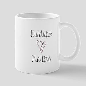 Kindness Matters Heart Mugs