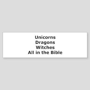All in the Bible Bumper Sticker