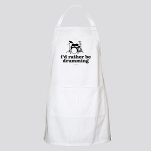 I'd Rather Be Drumming Apron