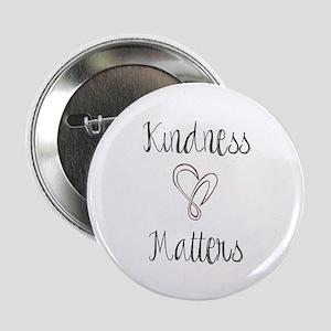 """Kindness Matters Heart 2.25"""" Button (10 Pack)"""