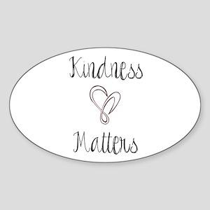 Kindness Matters Heart Sticker