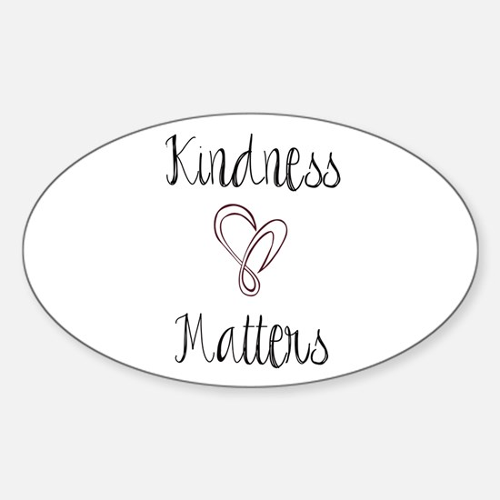 Kindness Matters Heart Decal