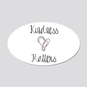 Kindness Matters Heart Wall Decal