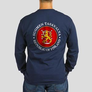 Republic Of Finland Long Sleeve T-Shirt