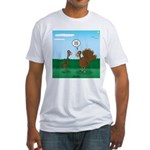 Turkey Diet Fitted T-Shirt