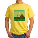 Turkey Diet Yellow T-Shirt