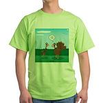 Turkey Diet Green T-Shirt