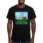 Turkey Diet Men's Fitted T-Shirt (dark)