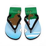 Turkey Diet Flip Flops