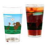 Turkey Diet Drinking Glass