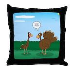 Turkey Diet Throw Pillow