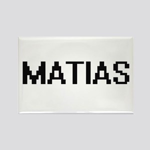 Matias Digital Name Design Magnets