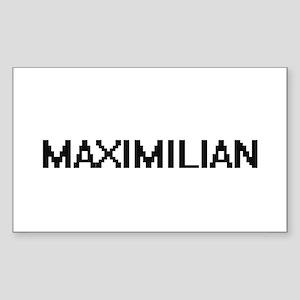 Maximilian Digital Name Design Sticker