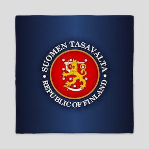 Republic of Finland Queen Duvet