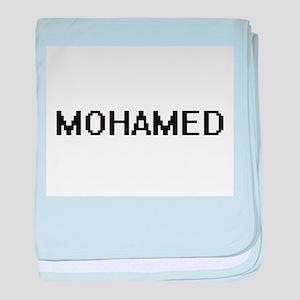 Mohamed Digital Name Design baby blanket