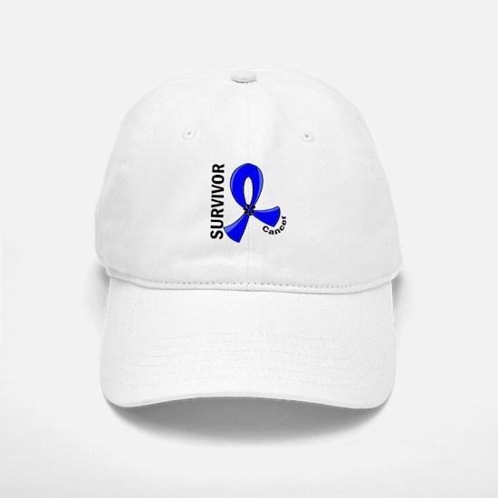 Rectal Cancer Survivor 12 Baseball Baseball Cap