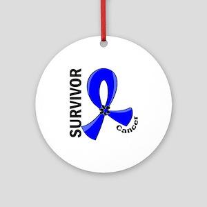 Rectal Cancer Survivor 12 Ornament (Round)