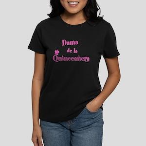 Dama de la Quinceañera Women's Dark T-Shirt