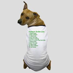 To-Do List: Dog T-Shirt