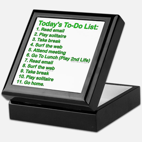 To-Do List: Keepsake Box