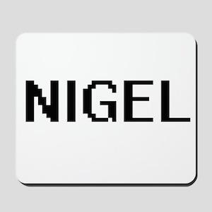 Nigel Digital Name Design Mousepad